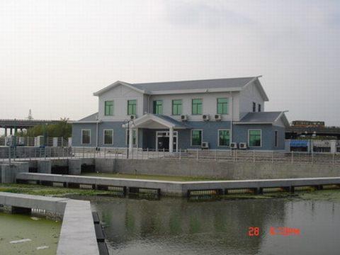 古浦塘泵闸全景