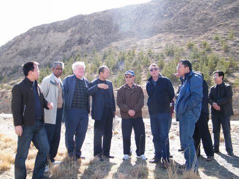 2008年,中国水利学会,加拿大土木工程学会,甘肃省水利科学研究院三家