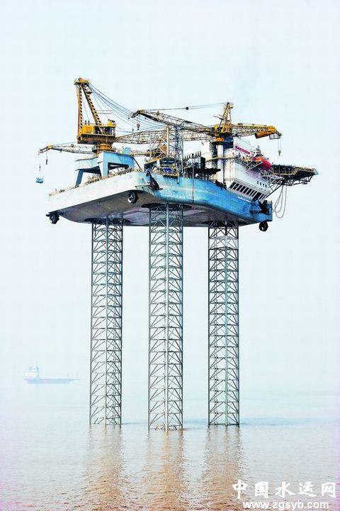 其结构建造的核心技术——海洋钻井平台桩腿