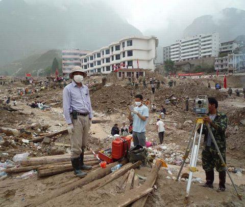 甘肃省水利水电设计设计研究院舟曲抢险勘测纪定制原则家具救灾展厅图片