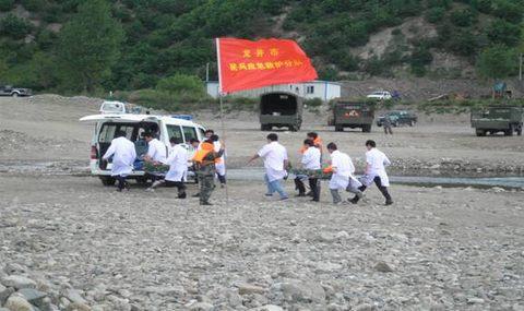 吉林省龙井市举行抗洪抢险救援演练