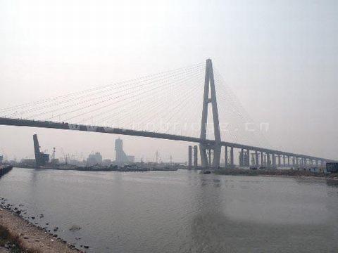 亚洲最大的独塔斜拉桥——天津海河大桥