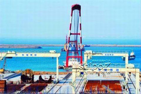 海洋工程装备基地隆起葫芦岛