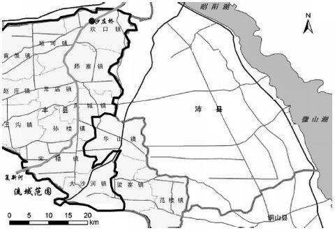 江苏丰县风城镇地图