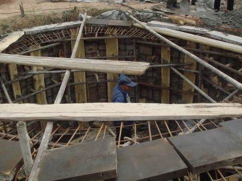 正在建设的商州区供水机井