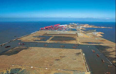 洋山深水港陆域形成工程