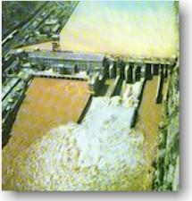 八盘峡水电站